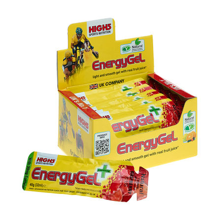 EnergyGel Plus Raspberry